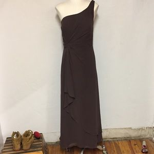 One Shoulder Gown, 20